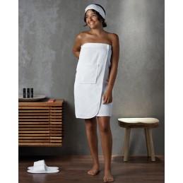 Paréo de bain Blanc